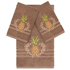 Linum Home Textiles Turkish Cotton Welcome Embellished Bath Towel Collection