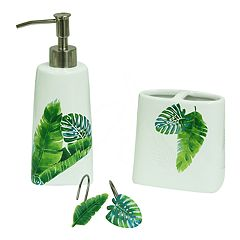 Bacova Guild Kauai Bathroom Accessories Collection