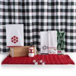 St. Nicholas Square® Farmhouse Holiday Shower Curtain Collection