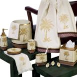 Avanti Oasis Palm Bathroom Accessories Collection