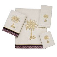 Avanti Oasis Palm Bath Towels