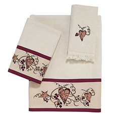 Avanti Hearts & Stars Bath Towels