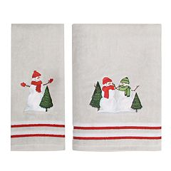 St. Nicholas Square® Farmhouse Snowman Bath Towel Collection