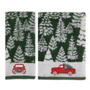 St. Nicholas Square® Farmhouse Truck Bath Towel Collection
