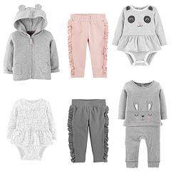 Baby Girl Carter's Animals Mix & Match Collection