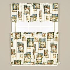 Saturday Knight, Ltd. Garden Love Window Curtain Collection
