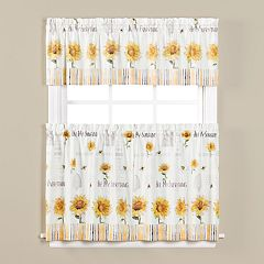 Saturday Knight, Ltd. Bee & Bee Window Curtain Collection