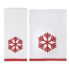 St. Nicholas Square® Farmhouse Snowflake Bath Towel Collection