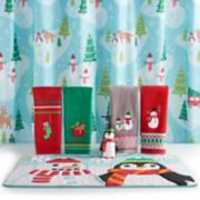 St. Nicholas Square® Holiday Cheer Scenic Shower Curtain Collection