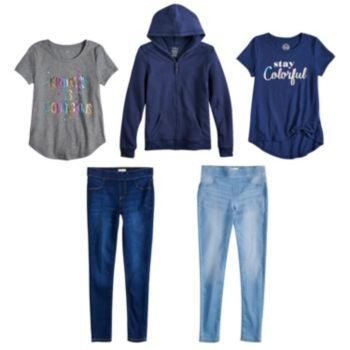 Girls 7-16 SO® Ultimate Jegging Collection