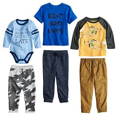 Disney & Jumping Beans® Baby Boy Mix & Match Outfits