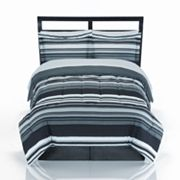The Big One 8-pc. Omni Striped Reversible Bed Set