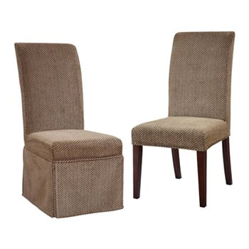 Red Dining Chairs Slipcovers Home Decor Furniture
