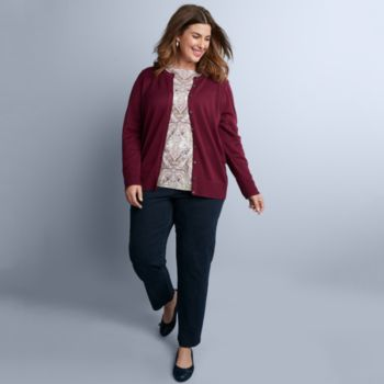 Plus Size Croft & Barrow® Fall Outfit