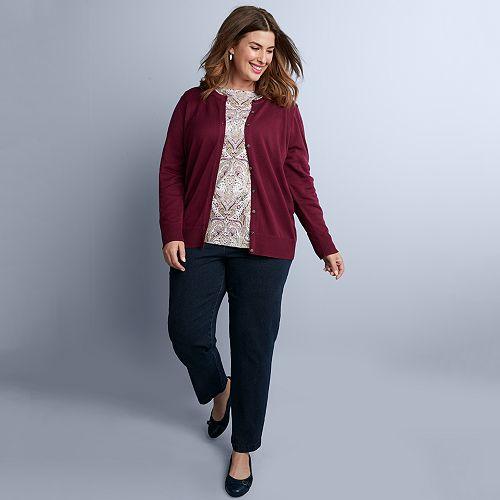 a82c29798e163 Plus Size Croft   Barrow® Fall Outfit