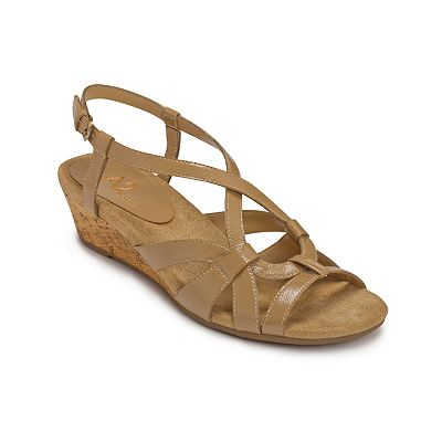 A2 by Aerosoles Ready Yet Go Wedge Sandals