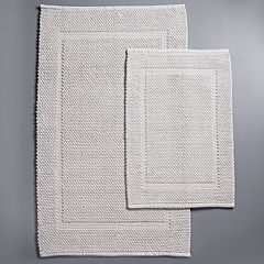 Simply Vera Vera Wang Flat Woven Bath Rug Collection