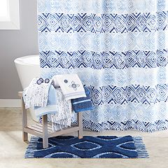 Saturday Knight, Ltd. Kali Diamonds Shower Curtain Collection