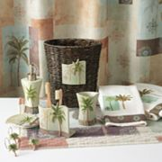 Bacova Palm Collage Bath Accessories