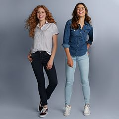 Women's Levi's® Button Up Fall Outfit