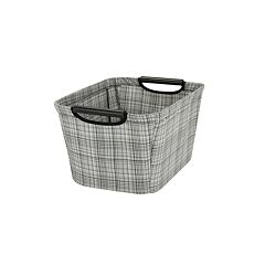 Household Essentials Plaid Storage Accessories