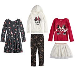 Disney's Minnie Mouse Girls 4-12 Holiday Collection 2018 by Jumping Beans®