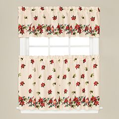 Saturday Knight, Ltd. Holiday Elegance Window Curtain Collection