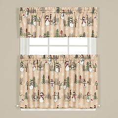 Saturday Knight, Ltd. Snowman Land Window Curtain Collection