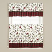 Saturday Knight, Ltd. Winter Birds Window Curtain Collection