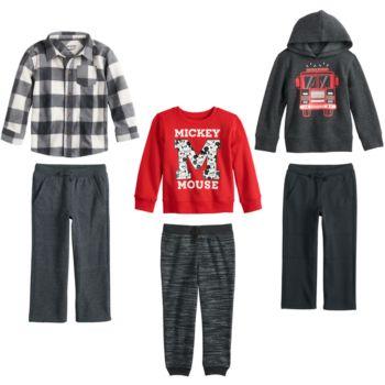 Disney & Jumping Beans® Toddler Boy Mix & Match Outfits