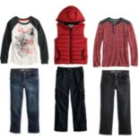 Boys 4-12 SONOMA Goods for Life? Wolf Mix & Match Outfits
