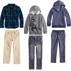 Boys 4-12 SONOMA Goods for Life™ Plaid Mix & Match Outfits