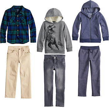 Boys 4-12 SONOMA Goods for Life? Plaid Mix & Match Outfits