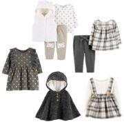 Baby Girl Carter's Bear Fall 2018 Collection