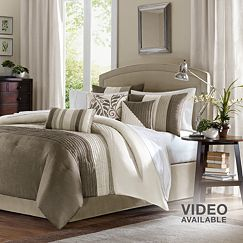 Madison Park Eastridge 7-pc. Pintuck Comforter Set
