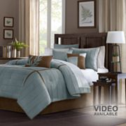 Madison Park Kirkwood 7-pc. Pintuck Comforter Set