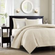 Madison Park Mansfield 3-pc. Quilted Coverlet Set