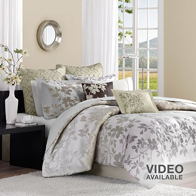 Madison Park Charlotte 8-pc. Floral Comforter Set