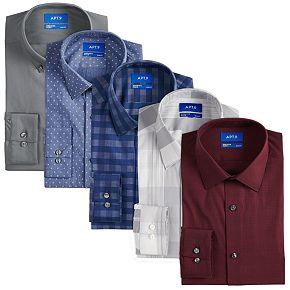 Men's Apt. 9® Flex Stretch Dress Shirts