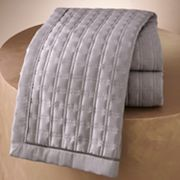 Jennifer Lopez bedding collection Ocean Drive Quilted Coverlet