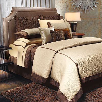 Jennifer Lopez bedding collection Sand Drift Bedding Coordinates
