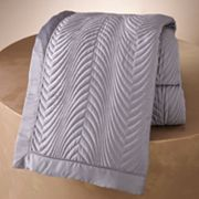 Jennifer Lopez bedding collection Old Hollywood Quilted Coverlet