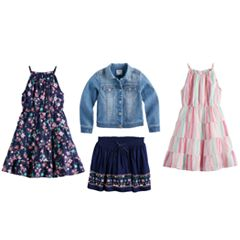 Girls 4-12 SONOMA Goods for Life™ Floral Mix & Match Collection
