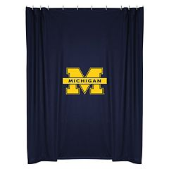 Michigan Wolverines Shower Curtain Collection
