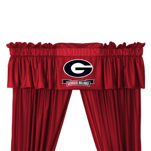 Georgia Bulldogs Window Treatments