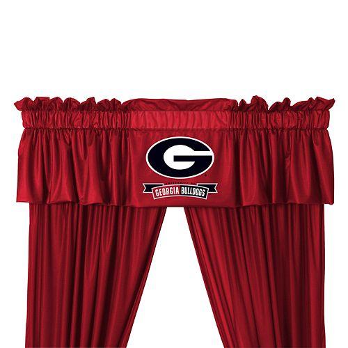Georgia Bulldogs Window Treatments