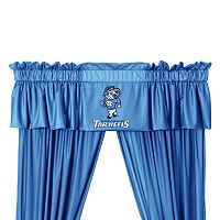 North Carolina Tar Heels Window Treatments