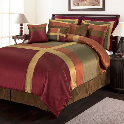 Lush Decor Iman 8-pc. Pieced Comforter Set
