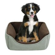 Soft Touch Rectangular Cuddler Pet Beds