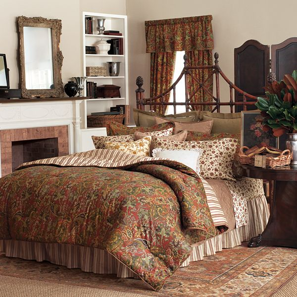 chaps chaps home chandler paisley bedding coordinates